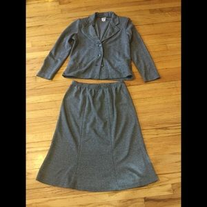 Cotton and wool suit size M